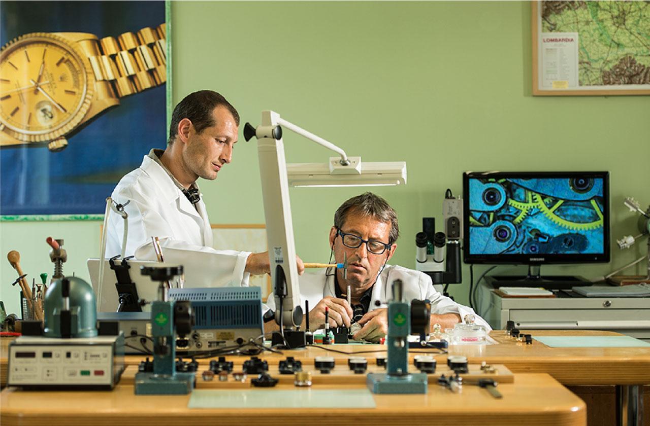 Orologiaio Brescia - Laboratorio Curato